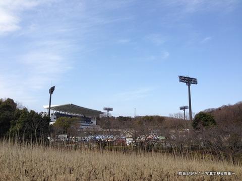 20130303003新装開店の町田市立陸上競技場