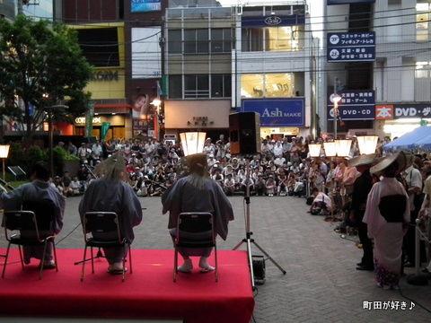 2011080673ゆかた祭り&風の盆@ぽっぽ町田