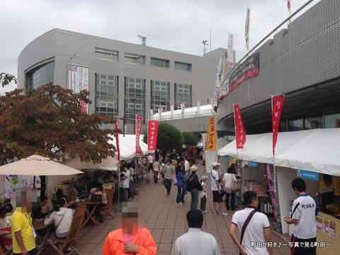 2013100608日曜日の町田市立総合体育館