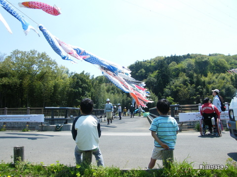 20100425065平成22年第7回鶴見川泳げ鯉のぼり