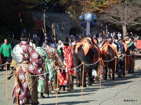 20101128104町田時代祭り・流鏑馬