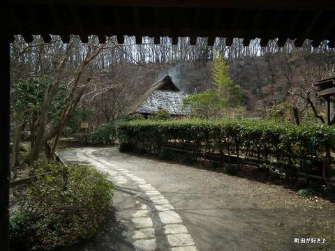 2012021832雪残る薬師池公園
