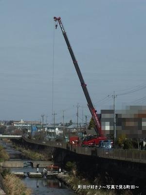 2013032067恩田川で何の工事