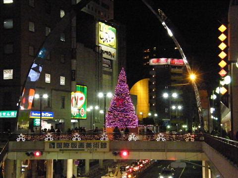 2008112916.jpg 町田ターミナルプラザのクリスマスツリー
