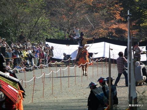 20101128151町田時代祭り・流鏑馬