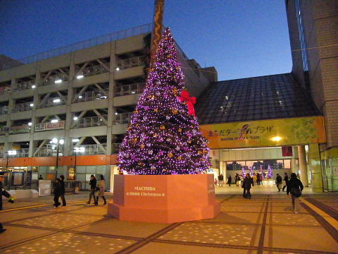 2008112901.jpg 町田ターミナルプラザのクリスマスツリー