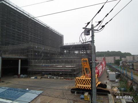 2011062622町田市役所・新庁舎建設現場
