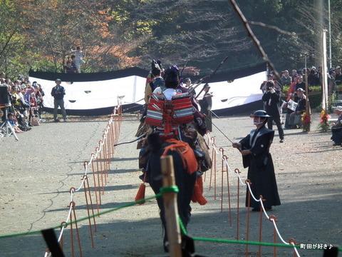 20101128145町田時代祭り・流鏑馬