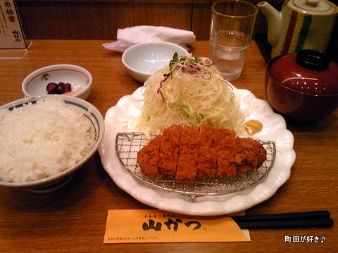 2010050897とんかつ専門店山かつロースかつ定食
