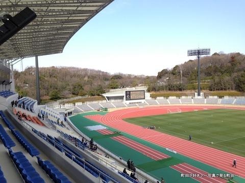20130303052新装開店の町田市立陸上競技場
