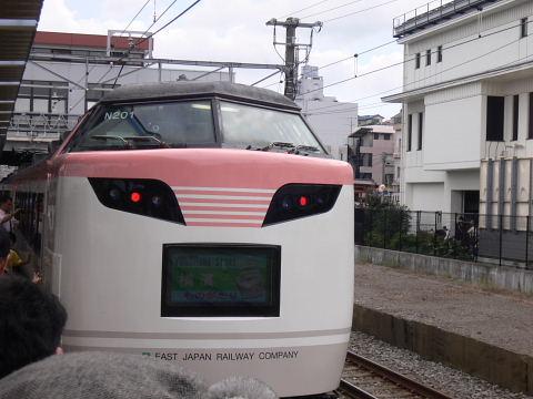 2008092308.jpg 横浜線開業100周年イベント(JR小机駅)