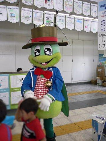 2008092318.jpg 横浜線開業100周年イベント(JR小机駅)
