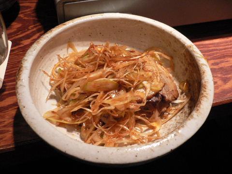 2009011026.jpg ぶたまる本舗 町田店 ピリ辛ねぎ味噌チャーシュー