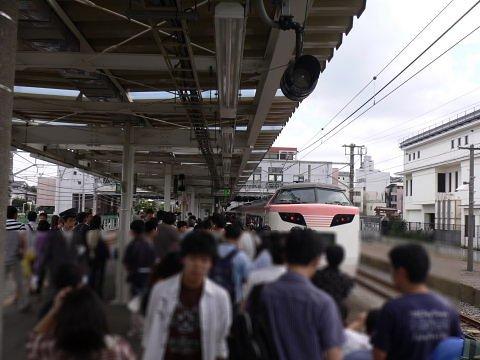 2008092307.jpg 横浜線開業100周年イベント(JR小机駅)