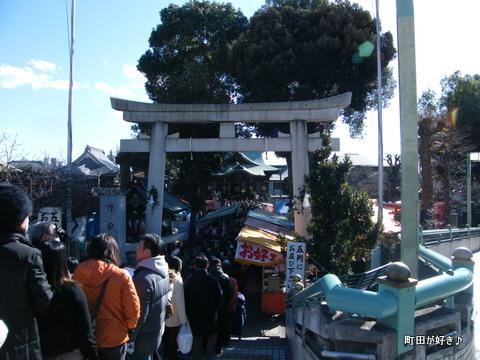2010010112町田天満宮初詣