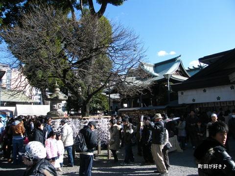 2010010115町田天満宮初詣