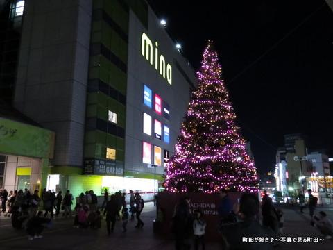 2013112311町田ターミナルプラザ前のクリスマスツリー