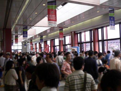 2008092320.jpg 横浜線開業100周年イベント(JR小机駅)