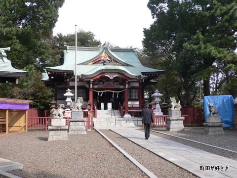 2009110151 鶴間熊野神社七五三御祈祷