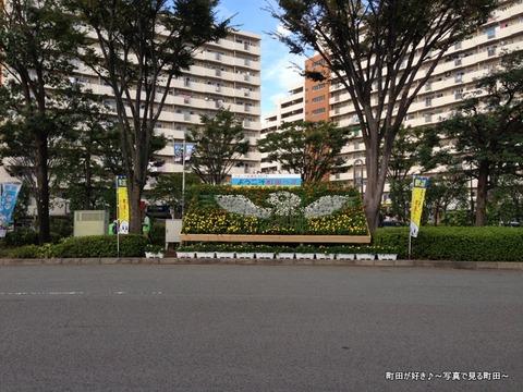 2013092801成瀬駅北口広場、できたのは花壇でした