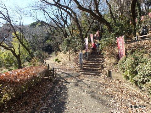 2012122419土砂崩れ@薬師池公園