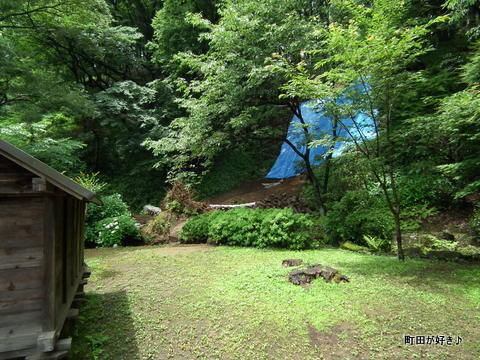 20120617120薬師池公園の土砂崩れ現場
