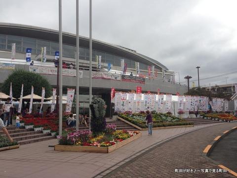 2013100613日曜日の町田市立総合体育館