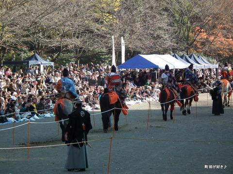 20101128205町田時代祭り・流鏑馬