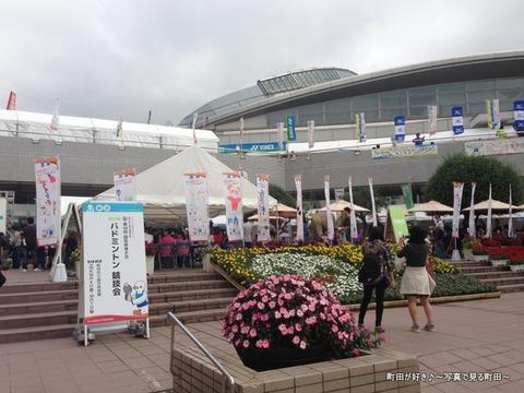 2013100612日曜日の町田市立総合体育館