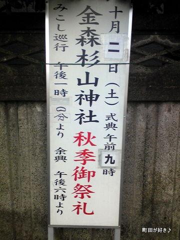 2010091806金森杉山神社・秋季御祭礼