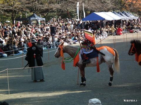 20101128204町田時代祭り・流鏑馬