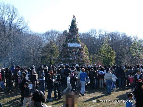 20100117129小山内裏公園の「どんど焼き」