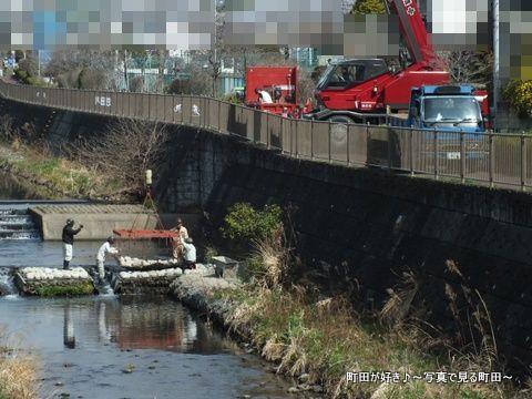 2013032066恩田川で何の工事