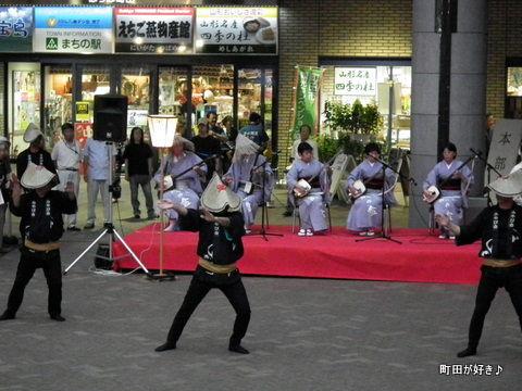 2011080677ゆかた祭り&風の盆@ぽっぽ町田