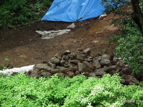 20120617122薬師池公園の土砂崩れ現場