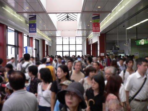 2008092329.jpg 横浜線開業100周年イベント(JR小机駅)