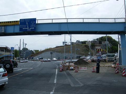 20090418180.jpg 鎌倉街道今井谷戸交差点改良工事