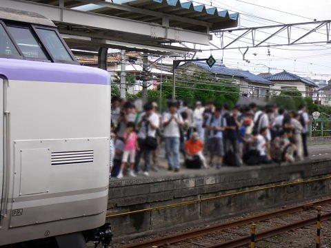 2008092332.jpg 横浜線開業100周年イベント(JR小机駅)