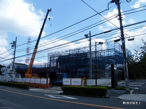 20101002025三和中町3丁目店 新築工事現場