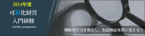 2014年度可視化経営入門