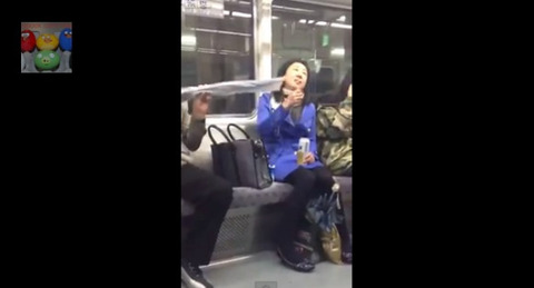 stupid-korean-lady-goes-crazy-on-subway