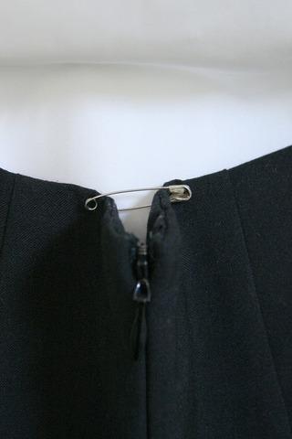 TPEドール スカートのサイズ詰め
