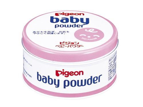 ピジョン べビーパウダー ピンク缶(微香性)