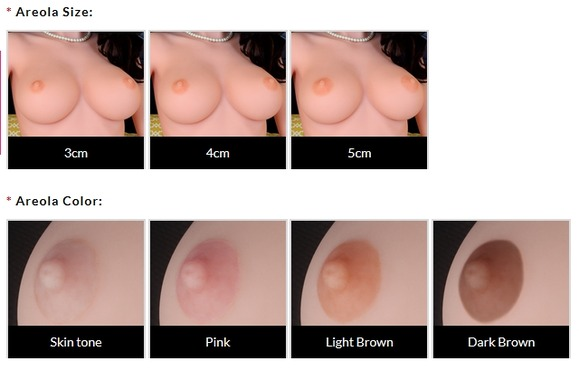 WMドール乳首オプション