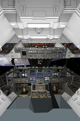新宇宙船内