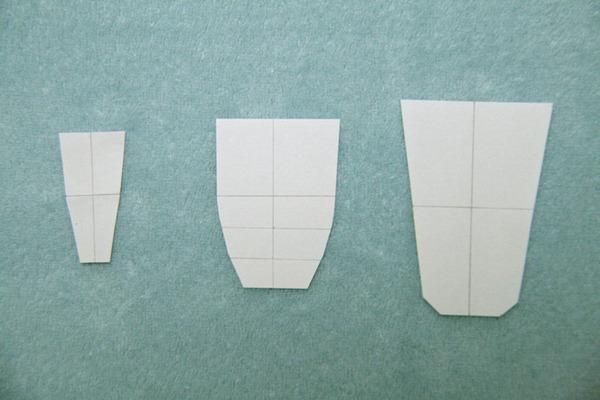 陰毛再現 型紙