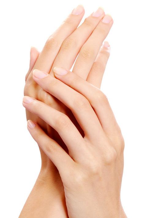 人の手のサンプル