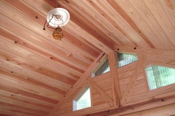 ウッドハウス天井