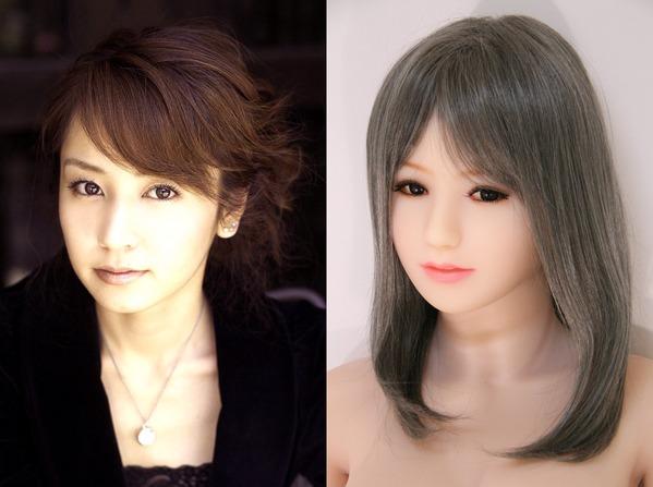 矢田亜希子さんとTPEドールの比較