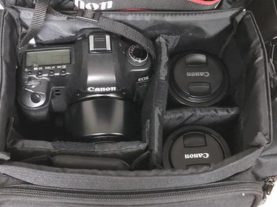 ガジェットバッグ カメラ収納例
